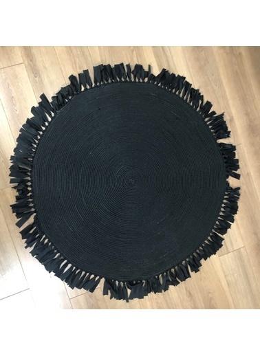 MarkaEv Nomad Jüt Halı 28 Siyah Siyah